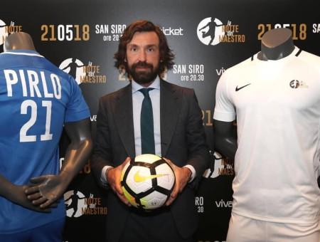 Pirlo, Guardiola, Platini e Rafa Cabrera Bello a Villa Carolina